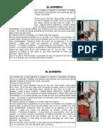 Lectura Del Barbero - Creacion