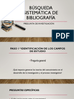 Búsqueda Sistemática de Bibliografía 2