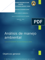 Analisis de La Ptar Ancon