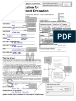 PEBC Evaluation Sample