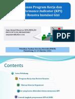 Penyusunan Program Kerja Dan KPI Instalasi Gizi