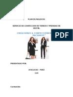 Ejemplo de Plan de Negocio - Copia
