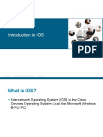 16- Introduction to Cisco IOS 15