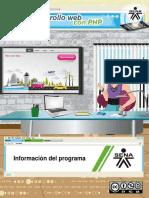 Informacion Programa
