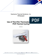 Nextreme Whitepaper Use of Thin-Film Thermoelectrics in PCR Thermal Cycling