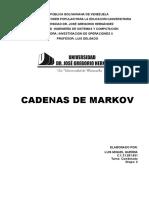 Cadenas de Markov Doc