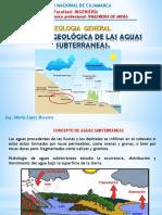 Cap Xi Acción Geologica de Aguas Subterraneas