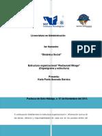 Organigrama y Estructura Organizacional