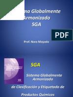 Sistema Globalmente Armonizado SGA. Prof. Nora Mayado