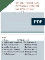 4.1 pengertian hukum dan kaitannya dg moral dan etika.pptx