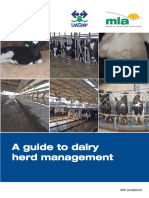 A Guide to Dairy Herd Management