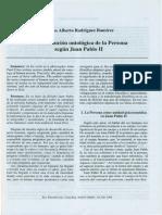 La constitución ontológica de la persona según Juan Pablo II.pdf