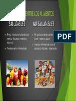 Diferencias Entre Los Alimentos