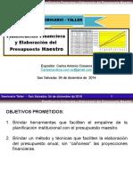 Planificación Financiera y Presupuestos