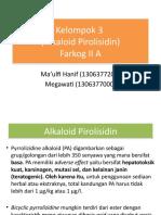 Kelompok 3 - Pirolisidin