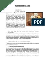 Aceites Esenciales(Proyecto)