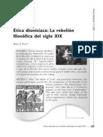 POZAS, MARIO - Ética Dionisíaca. La rebelión filosófica del siglo XIX.pdf
