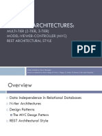 Web App Architectures