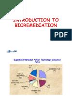 Introduction to Bioremediation