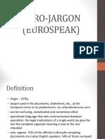 EU Jargon
