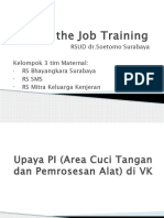 On the Job Training PONEK