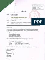Memo No. 088-UP.i-ks-X-2016-Rev.00 - Tindak Lanjut Pembayaran Kontrak Pekerjaan Listrik Instrument PT. MHE