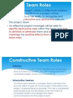 Managing Team and Conflict Management