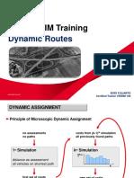 Vissim Training - 12. Dynamic Routes