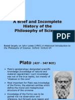 A Brief and Incomplete History