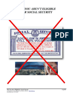 Why You Aren't Eligible for Social Security, Form #06.001