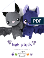 Bat Plush Pattern2
