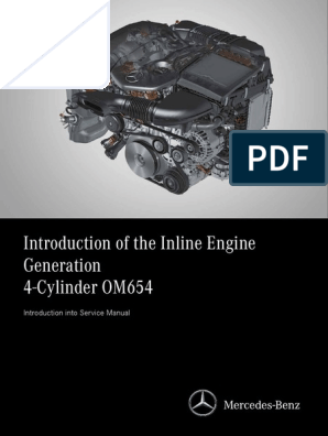 Introduction of the Mercedes OM654 Engine | Turbocharger | Internal