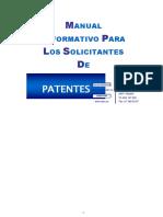 Manual Solic Patentes