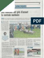 Nord Littoral - Des moutons ont pris d'assaut la centrale nucléaire