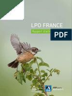 LPO - Rapport d'activité 2016