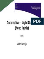 Automotive Light Sources MalteWantjer