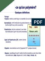 Polymère général