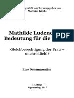 Köpke, Matthias - Mathilde Ludendorffs Bedeutung für die Frauen; 1. Auflage 2017.pdf
