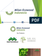 Presentation PT Milan Ecowood Indonesia