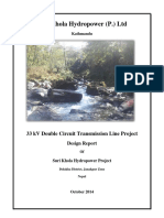 Suri Khola Transmission Line Design Report