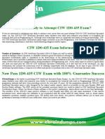 1D0-435 Exam Dumps - 1D0-435 Questions PDF