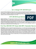 1D0-520 Dumps - CIW Site Designer CIW Web Design Exam