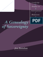 (BARTELSON) a Genealogy of Sovereignty