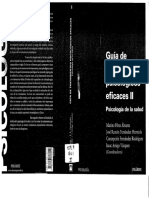 Guia de tto psicológicos eficaces II - Mariano Perez