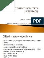 02. Ofm. Upravljanje Kvalitetom u Farmaciji 2013