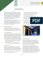 YOURHOME PassiveDesign InsulationInstallation