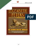 04- El Leon en El Valle- Elizabeth Peters