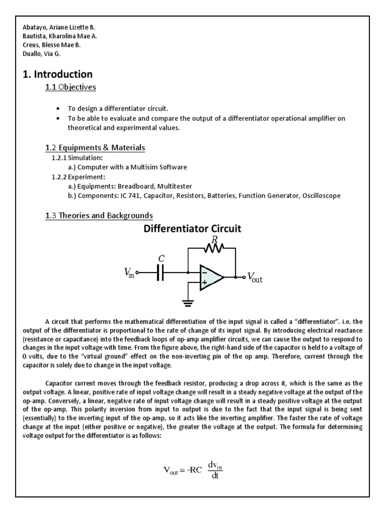 Different i at Or | Operational Amplifier | Amplifier