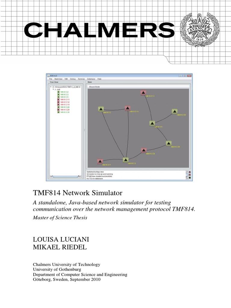 TMF814 Network Simulator | Common Object Request Broker