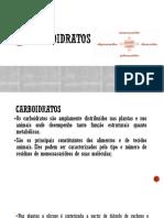 Carboidratos Parte 2.